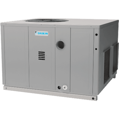 Daikin packaged product.