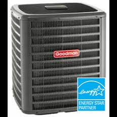 Goodman GSXC16 air conditioner.
