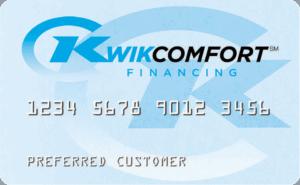 KwikComfort Financing Card